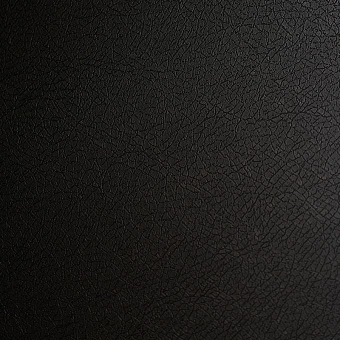 Textured conformable self-adhesive covering Black Leather for walls and furniture elegant black leather effect code X51