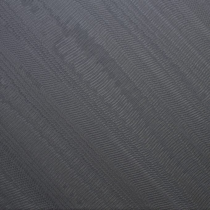 Textured conformable self-adhesive covering Cold Grey Waves for walls and furniture grey metallic effect code Q51