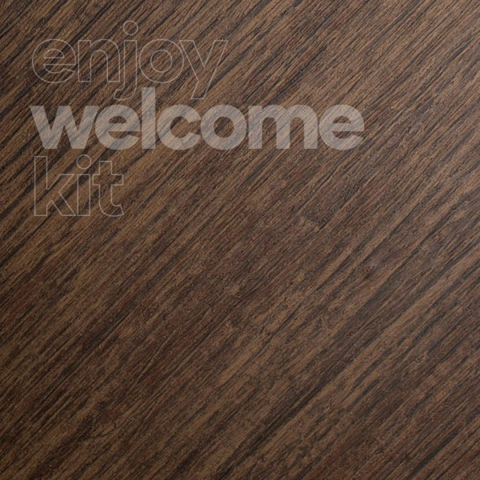 Textured conformable self-adhesive covering Aged Oak for your Welcome Kit