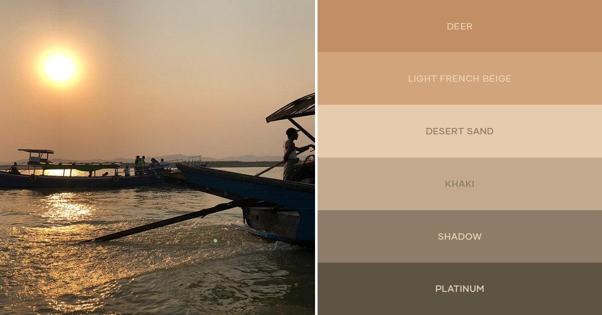 Color palette #livingtheinspiration Ambientha 01.19