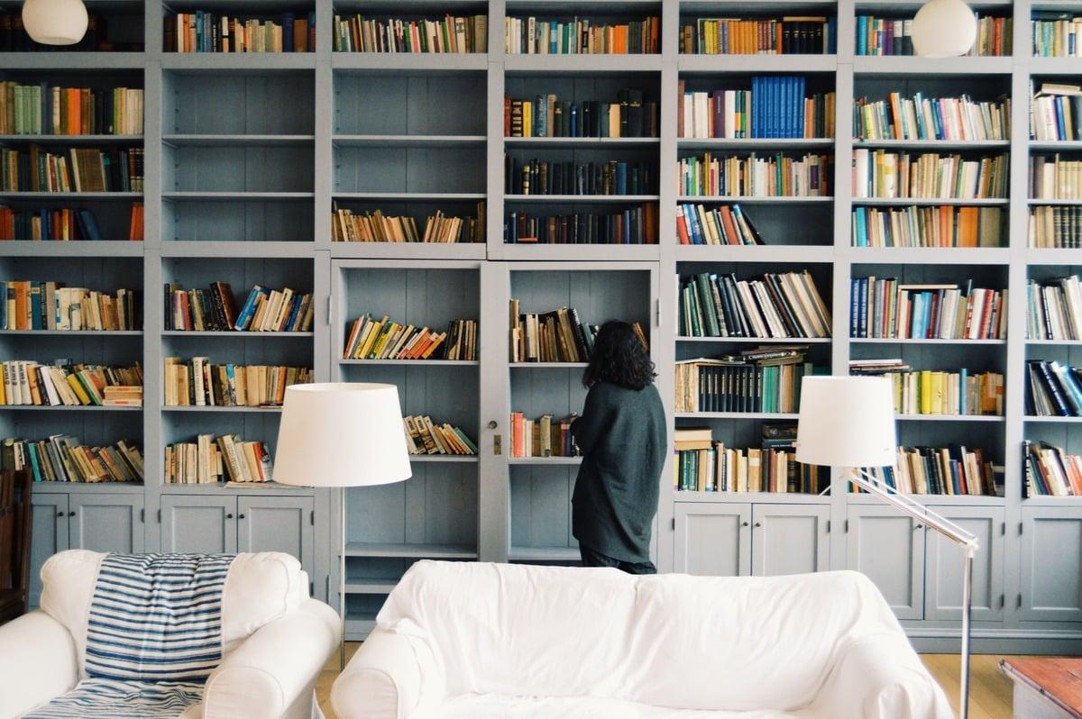 libreria passante dividere spazi interni idee blogpost ambientha