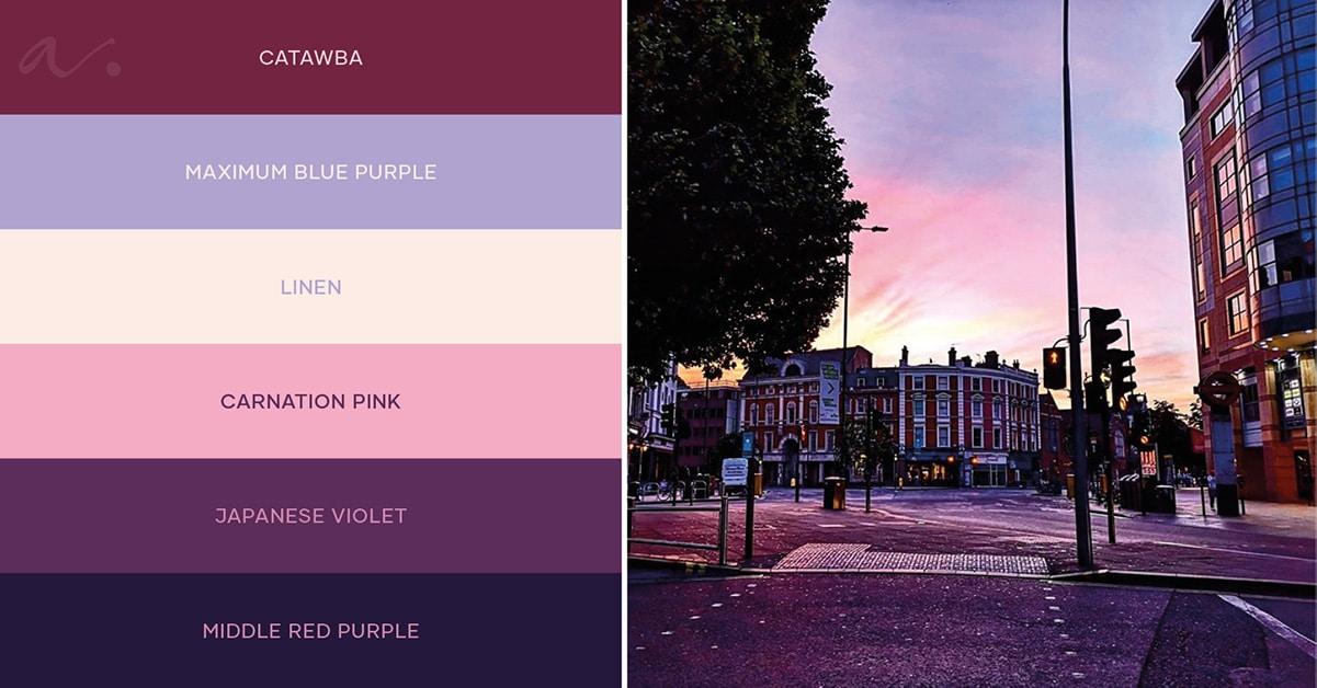 Color palette #livingtheinspiration Ambientha 04.19