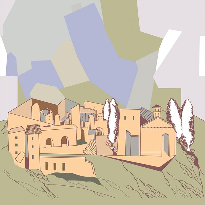 Carta da parati Genuine Italia di Chiara Dattola in esclusiva per Ambientha