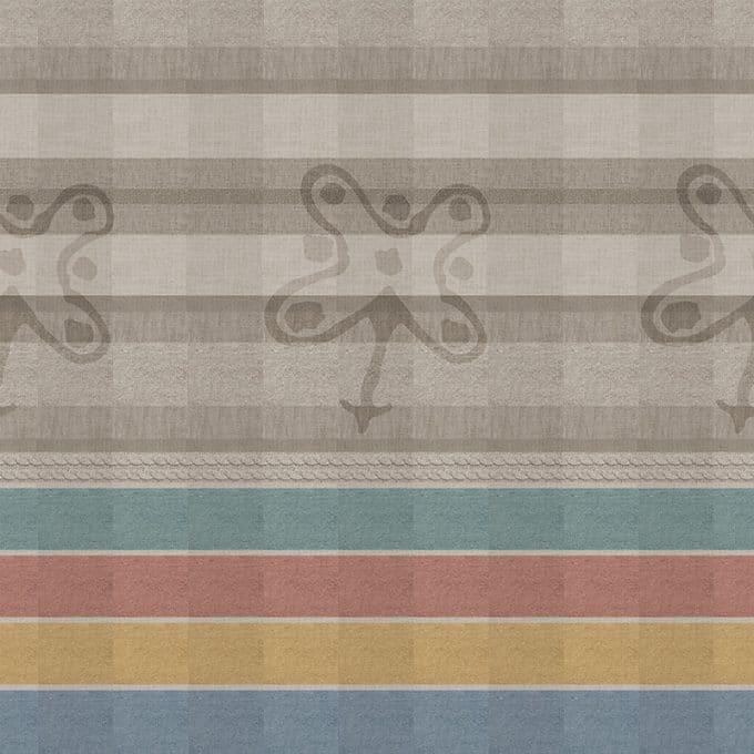 Carta da parati Rosa Camuna design by Ambientha with Atelier Giuliano&Giusy Marelli