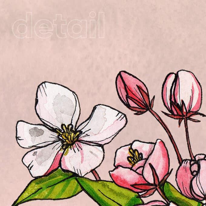 carta da parati deja vu pink andrea tarella