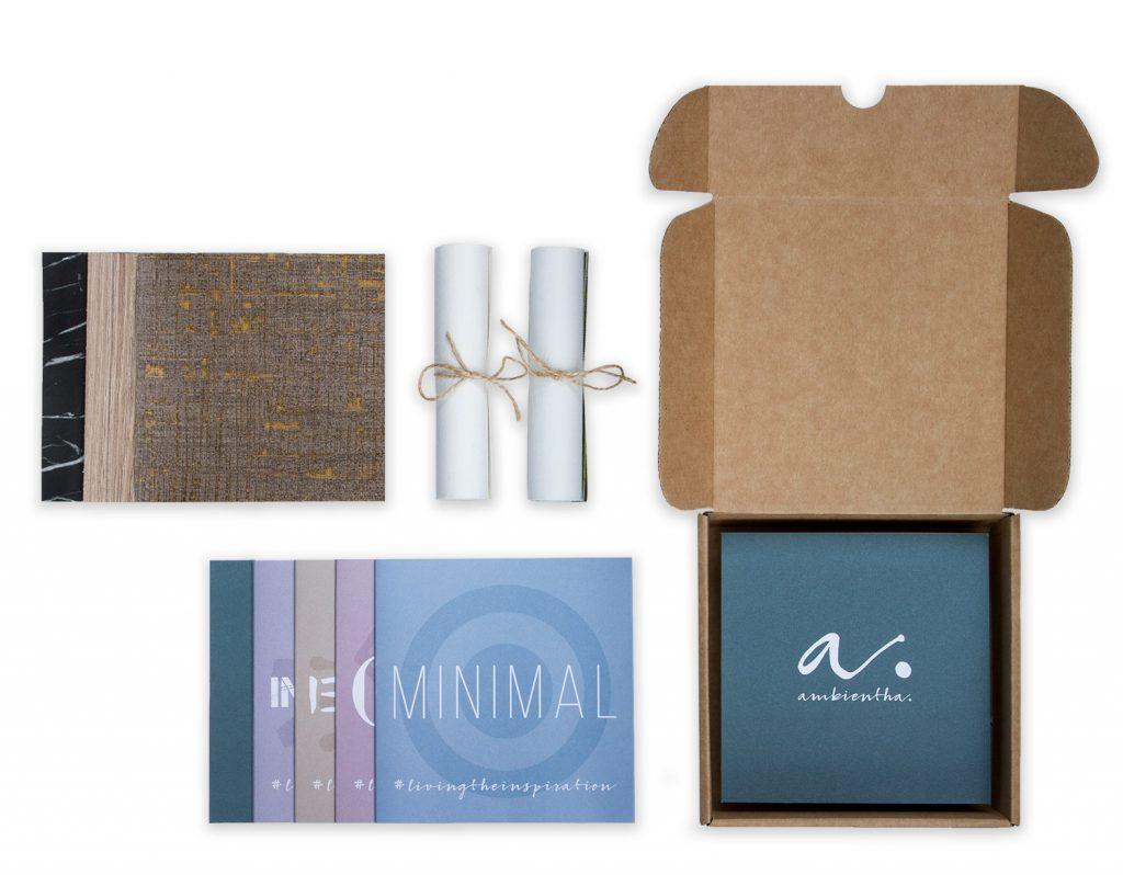 carta da parati su misura campioni welcome kit - Ambientha