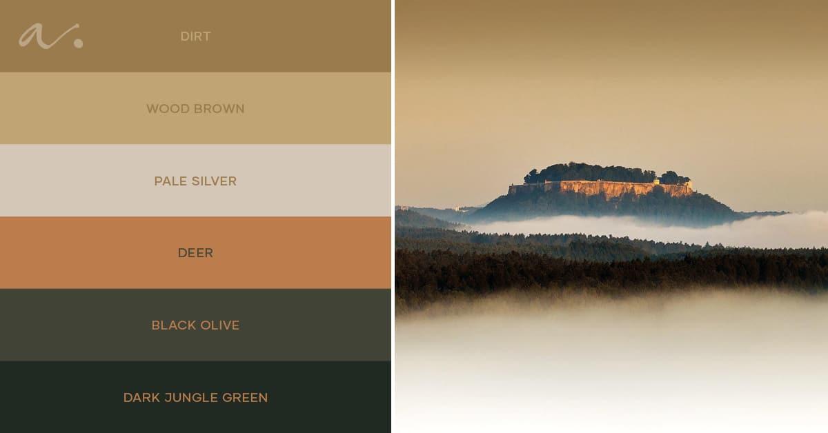 color palette #livintheinspiration