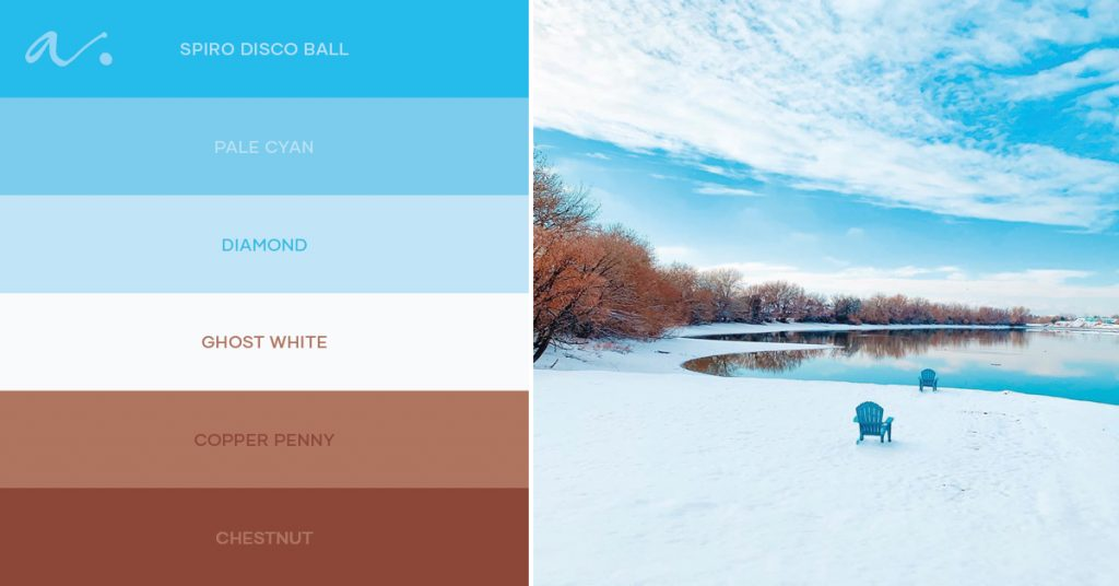 color palette #livintheinspiration