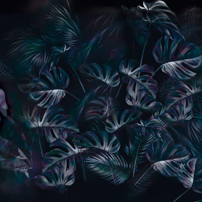 carta da parati lush petals by ruxandra chivu ambientha