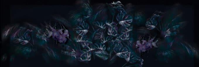 carta da parati lush petals by ruxandra chivu - ambientha