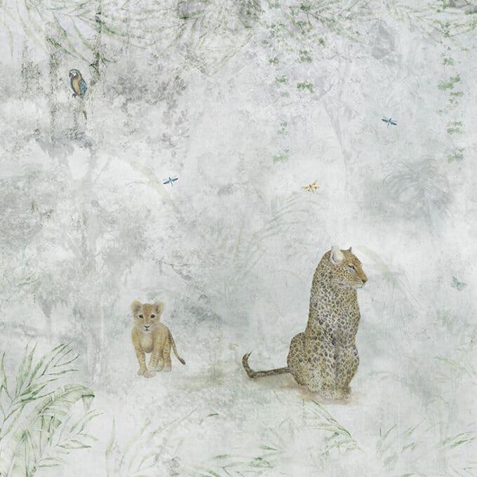 carta da parati giungla aylen jungle ambientha