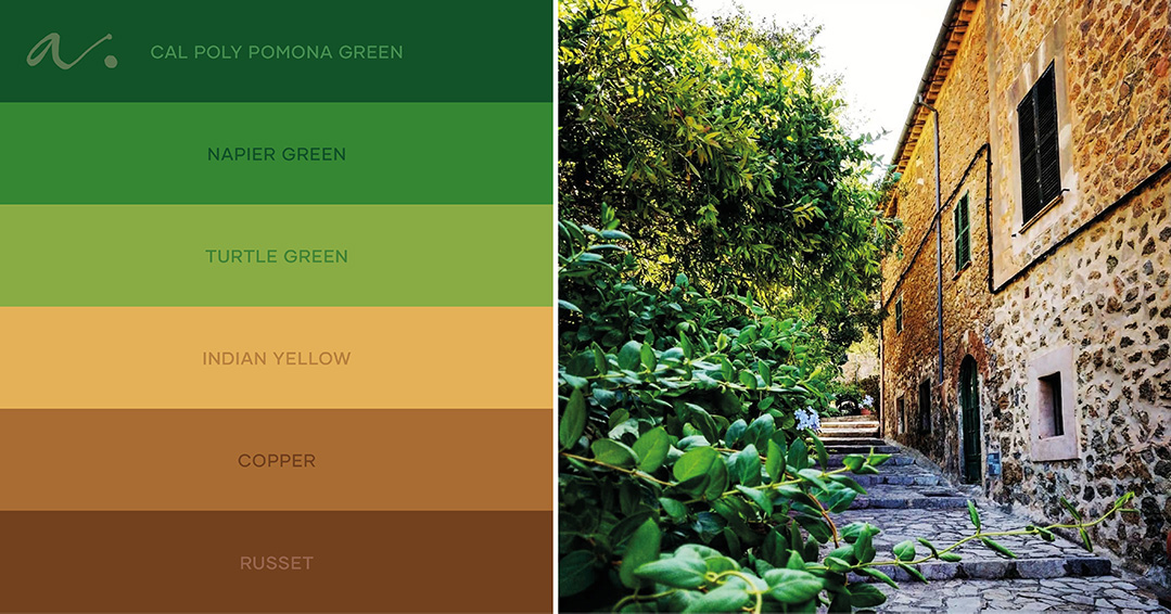 color palette #livingtheinspiration ambientha