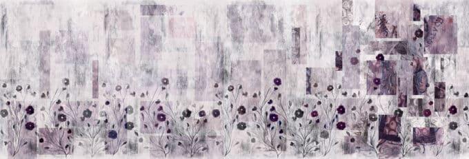 carta da parati fiori di matera ambientha