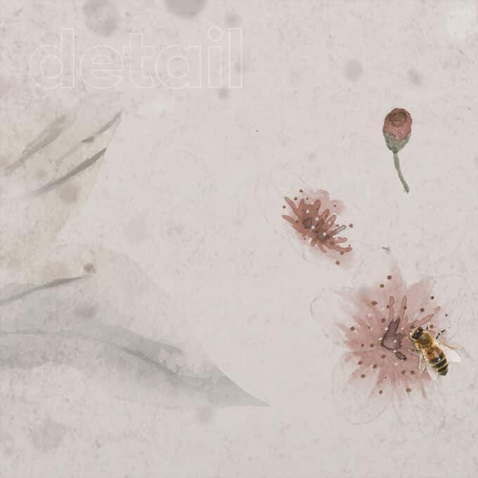 carta da parati pollen dance ambientha