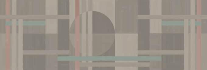 carta da parati geometrica plane canvas ambientha