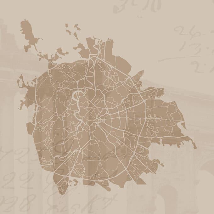 carta da parati roma cityart
