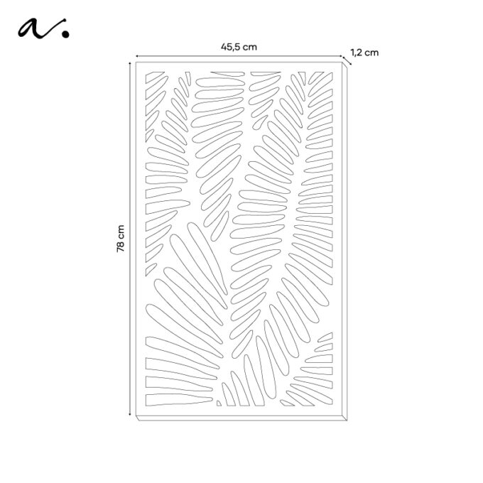 pannelli decorativi leaves 3
