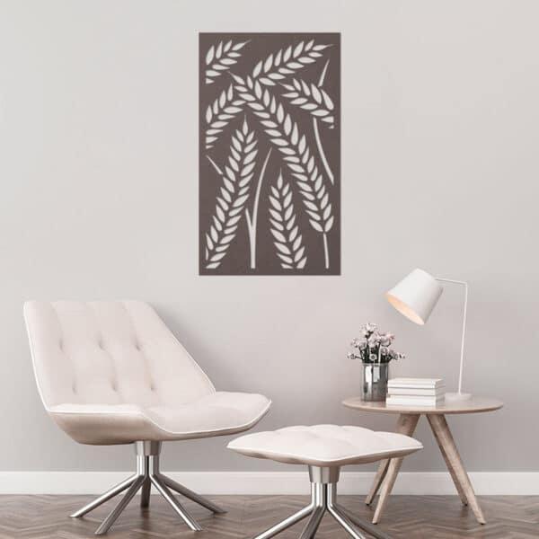 pannelli decorativi intagli wheat
