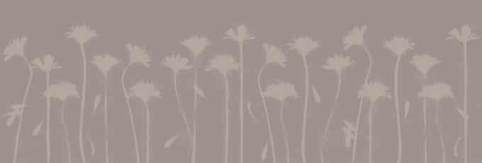 carta da parati floreale design ambientha